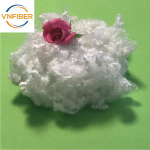 15d 64mm Hcs Recycle Polyester Fibre Filling Pillow Material