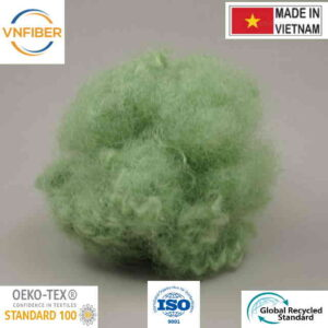 thailand polyester staple fiber green