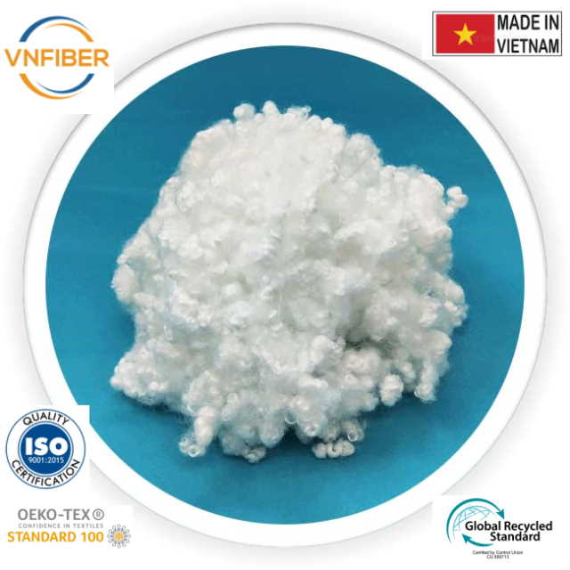 recycled polyester staple fiber 15D